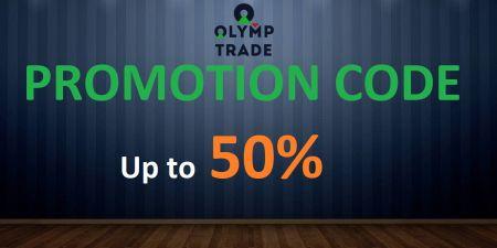 Kode Promo Olymp Trade - Bonus Hingga 50%