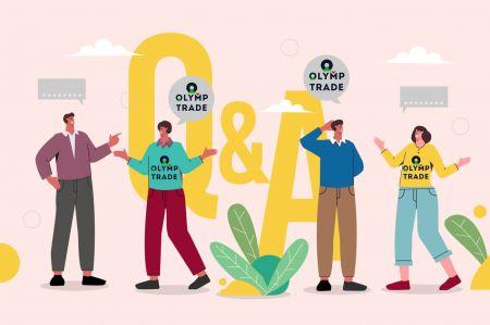 Pertanyaan Umum (FAQ) Akun, Platform Perdagangan di Olymp Trade