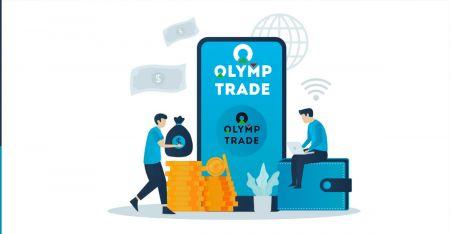 Cara Mendaftar dan Menarik Uang di Olymp Trade