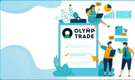 Cara Masuk dan Verifikasi Akun di Olymp Trade