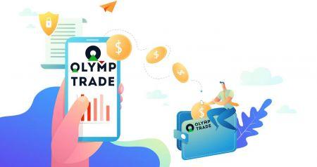 Cara Masuk dan Menarik Uang dari Olymp Trade