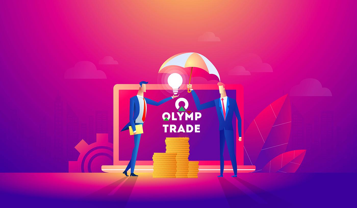 Cara bergabung dengan Program Afiliasi dan menjadi Mitra di Olymp Trade