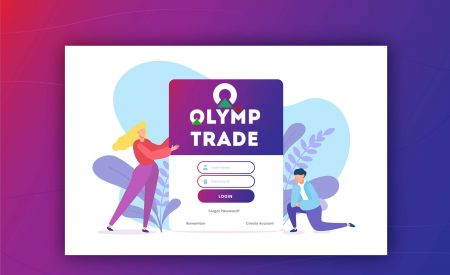 Cara Membuka Akun dan Masuk ke Olymp Trade