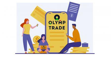 Cara Masuk dan Menyetor Uang di Olymp Trade