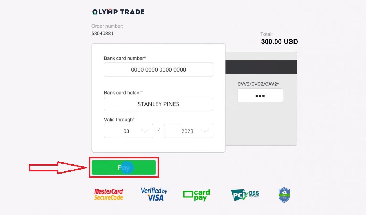 Cara Menyetor dan Berdagang di Olymp Trade